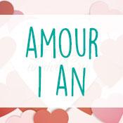 Carte anniversaire amour 1 an