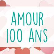 Carte anniversaire amour 100 ans