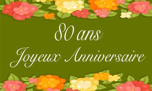 Carte Anniversaire Femme 80 Ans Virtuelle Gratuite A Imprimer Page 2 De 3