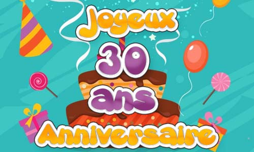 carte anniversaire humour 30 ans chat. Black Bedroom Furniture Sets. Home Design Ideas