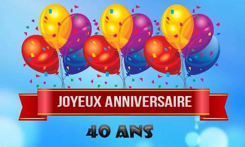 Célèbre Fête des 40 ans GJ64