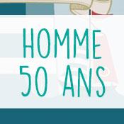 Carte anniversaire homme 50 ans