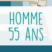 Carte anniversaire homme 55 ans