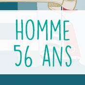 Carte anniversaire homme 56 ans