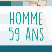 Carte anniversaire homme 59 ans