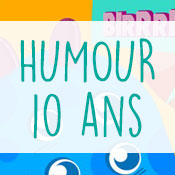 Carte anniversaire humour 10 ans