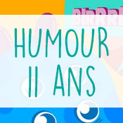 Carte anniversaire humour 11 ans