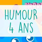 Carte anniversaire humour 4 ans