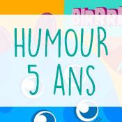 Carte anniversaire humour 5 ans