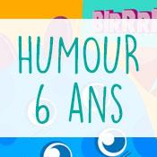 Carte anniversaire humour 6 ans