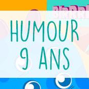 Carte anniversaire humour 9 ans