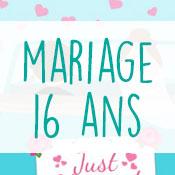 Carte anniversaire mariage 16 ans