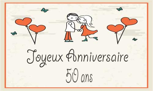 carte anniversaire mariage 50 ans virtuelle gratuite imprimer page 2 de 3. Black Bedroom Furniture Sets. Home Design Ideas
