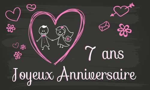 anniversaire de mariage 7 ans