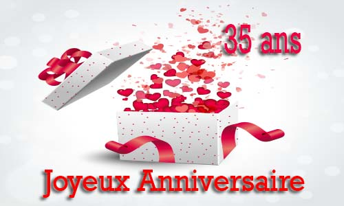 carte anniversaire amour 35 ans virtuelle gratuite imprimer. Black Bedroom Furniture Sets. Home Design Ideas
