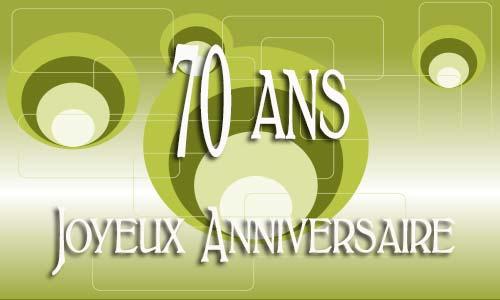 Carte Anniversaire Homme 70 Ans Virtuelle Gratuite à Imprimer