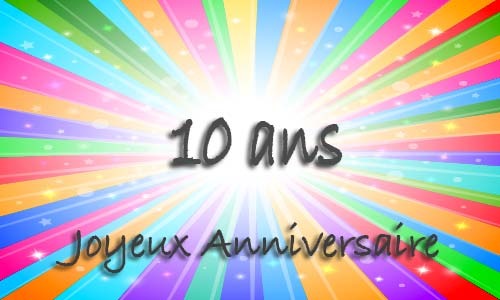 carte anniversaire humour 10 ans virtuelle gratuite imprimer. Black Bedroom Furniture Sets. Home Design Ideas