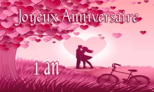 anniversaire de couple 1 an