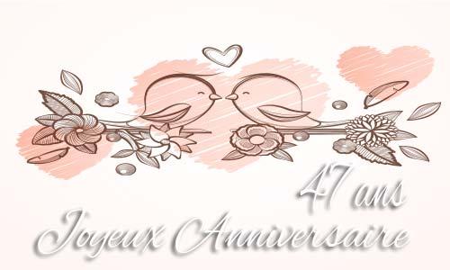 carte-anniversaire-mariage-47-ans-branche-oiseau.jpg