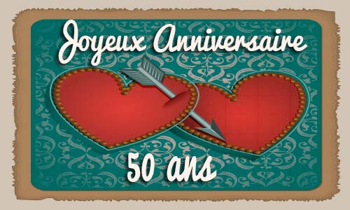 carte anniversaire mariage 50 ans virtuelle gratuite imprimer. Black Bedroom Furniture Sets. Home Design Ideas